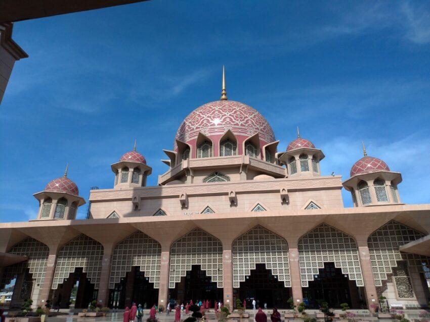 マレーシア ピンクモスク