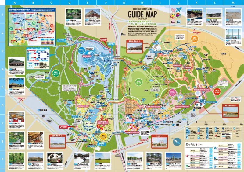 海浜公園地図
