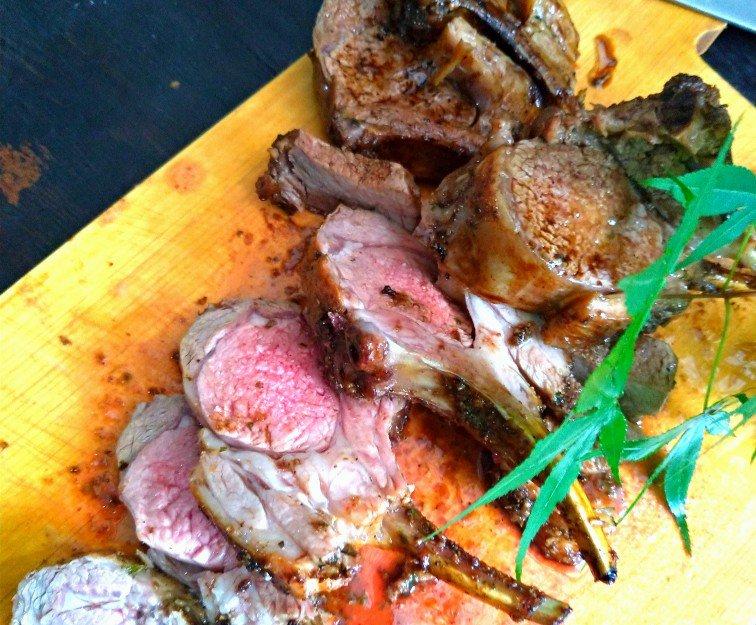 ダッチオーブン ラム肉
