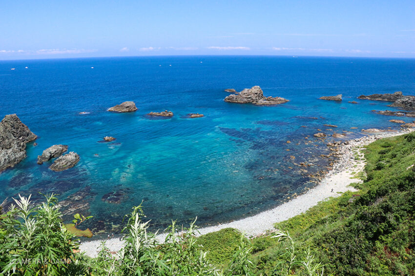 北海道積丹_島武意海岸