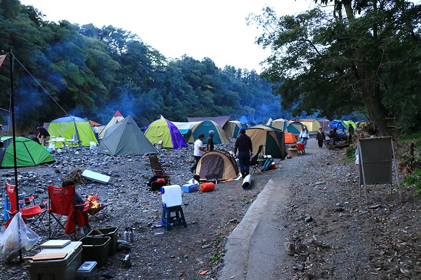 巾着田キャンプ場