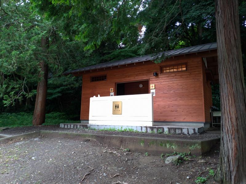 飯能河原のトイレ