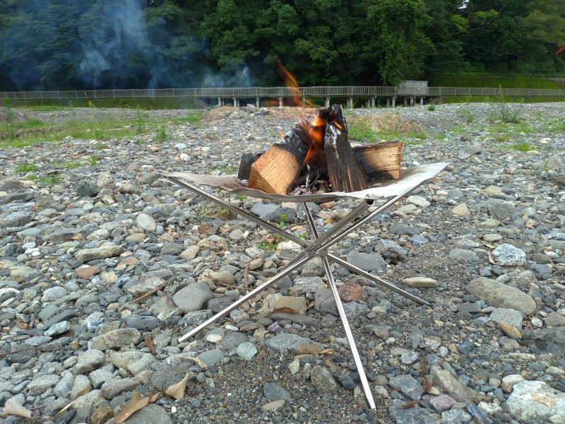 バンドック焚き火台BD-480