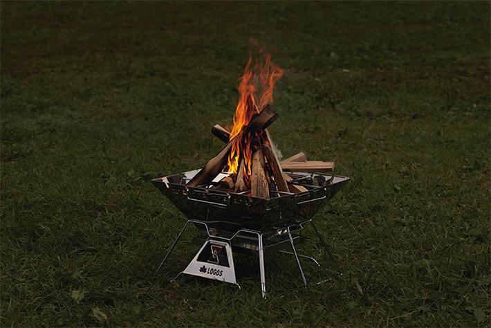 ロゴス焚き火台