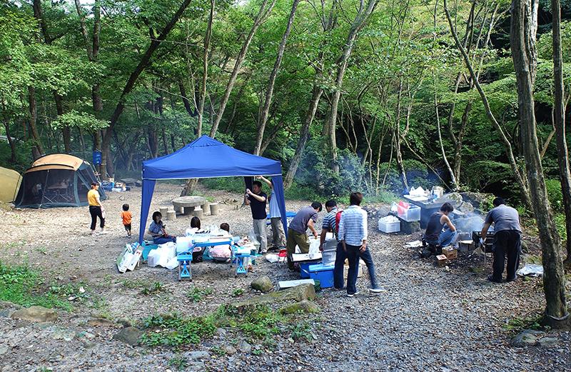 小滝沢公園キャンプ場