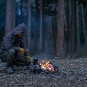 焚き火の時の服装